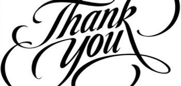 In Appreciation of our Volunteers