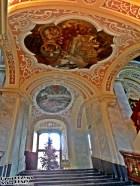 Klatka schodowa w Muzeum Uniwersytetu Wrocławskiego