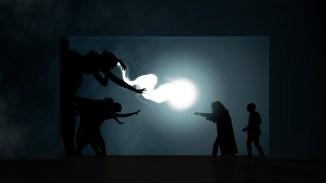Dumbledore's magic Shadow Theatre Verba