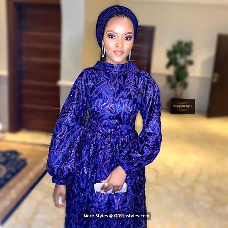 Aso-Ebi Dresses Styles 2020 100 Pictures: Latest Aso-Ebi Dresses Styles 2020 For Pretty Ladies