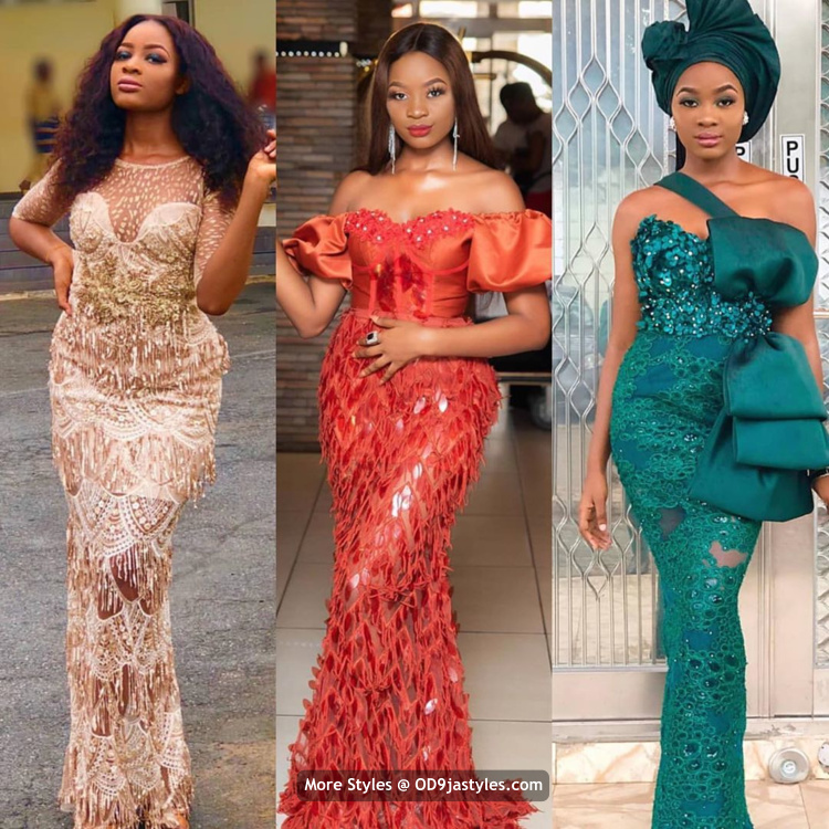 Latest Aso-Ebi Dresses Styles 2020 100 Pictures: Latest Aso-Ebi Dresses Styles 2020 For Pretty Ladies