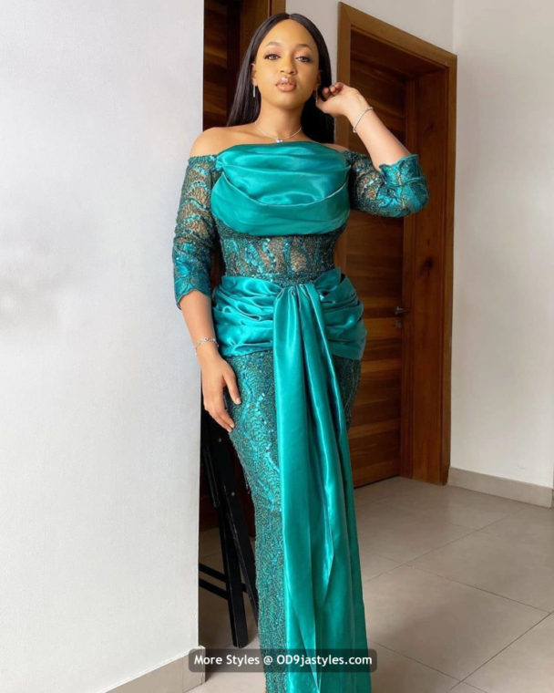 Aso-Ebi styles 2020 100 Pictures: Latest Aso-Ebi Dresses Styles 2020 For Pretty Ladies