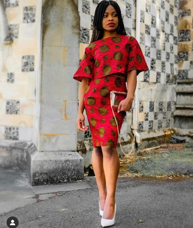 Ankara Short Gown Styles Pictures