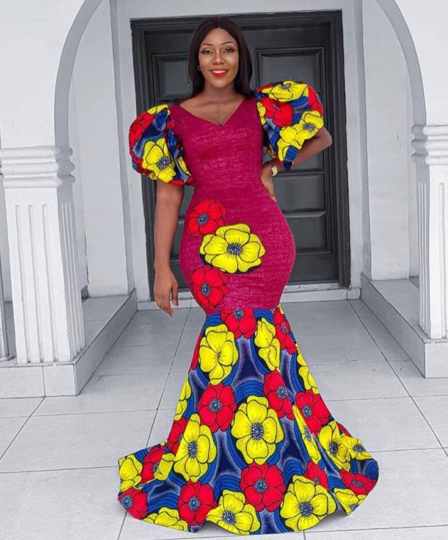 Stylish Ankara Gowns stylish ankara gowns - Latest Stylish Ankara Gowns For Women; Fashion And Styles 2020