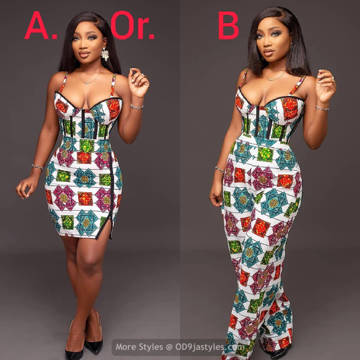 Ankara Dresses ankara dresses - Take A Seat And Scroll Through These Photos Of Ankara Dresses