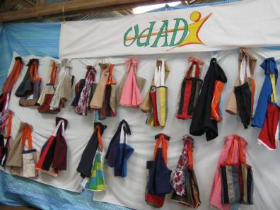 Les sacs cousus par les couturières