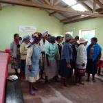 les danses des femmes rurales en notre honneur