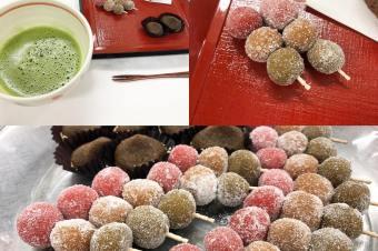 和菓子と抹茶体験