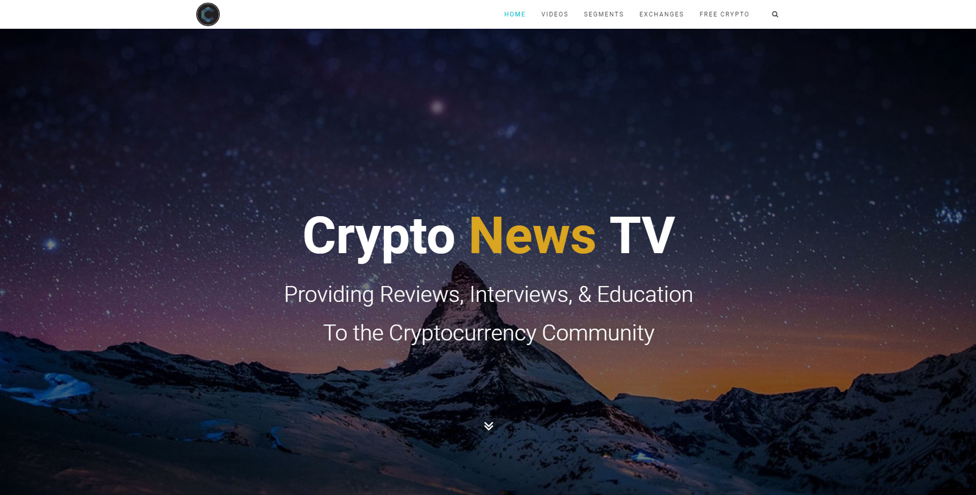Crypto News TV Mobile App & Website