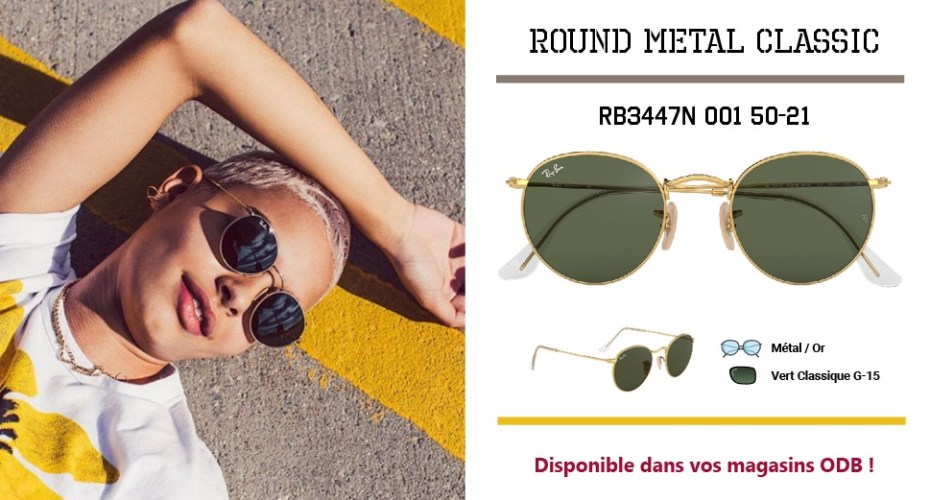 ROUND METAL CLASSIC RB3447N 001