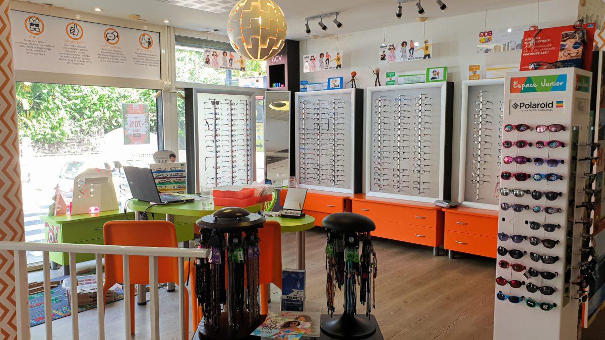 Espace Kids petits lunettes solaires vue soins choix