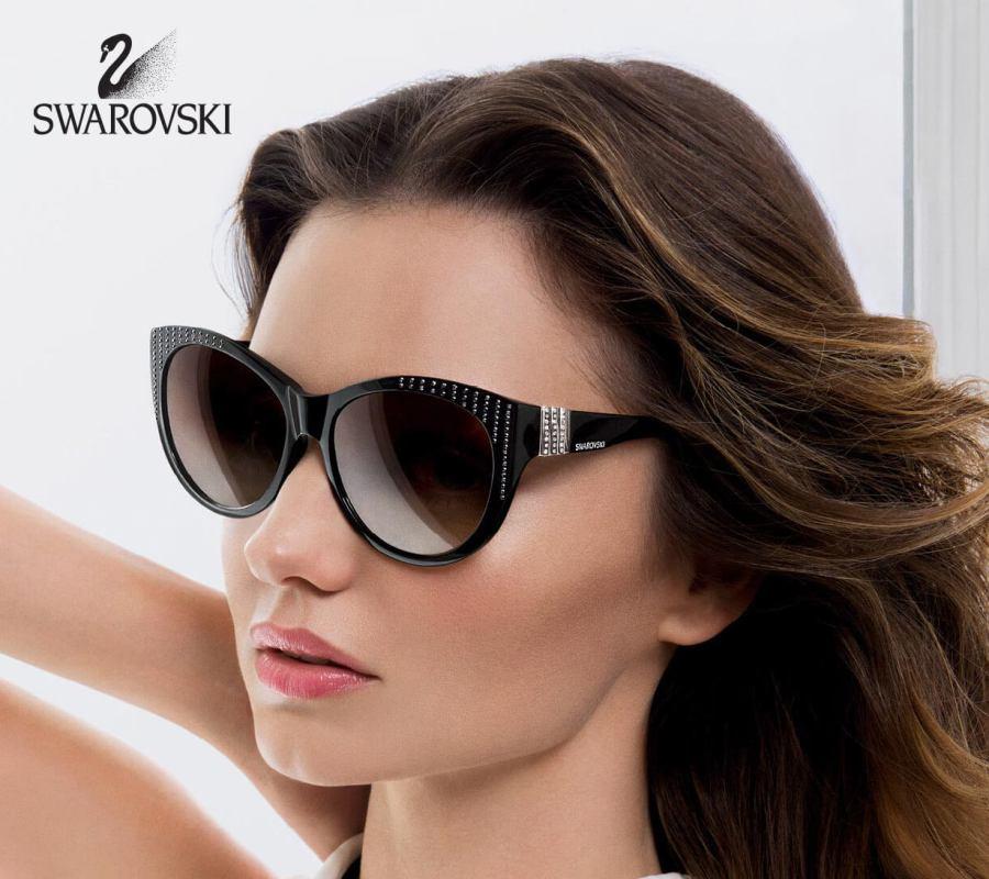 Swarovski lunettes de vue et solaires chez ODB opticien 974