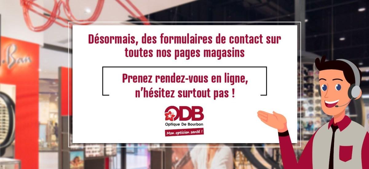 Contact ODB 974 rendez-vous