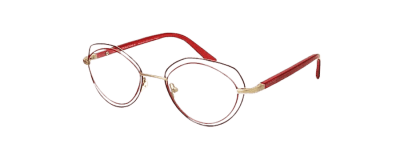 lunette optique orphée rouge