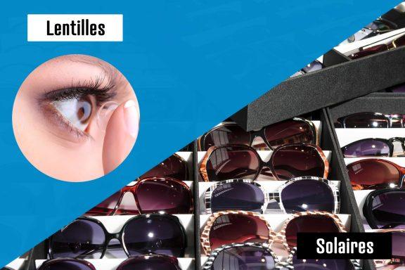 ODB à domicile sélection lentilles et solaires