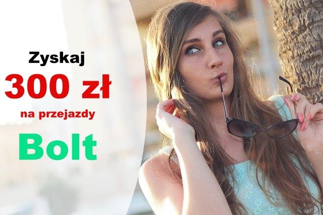 300 zł na przejazdy Bolt i darmowe konto bankowe