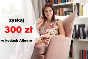"""Konto Otwarte na Ciebie w promocji """"Piękna premia"""" z premią do 300 zł na Allegro"""
