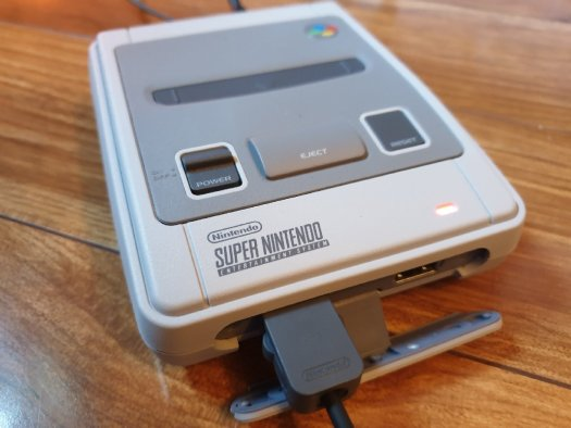 A Snes Mini Found A New Home Something Odd
