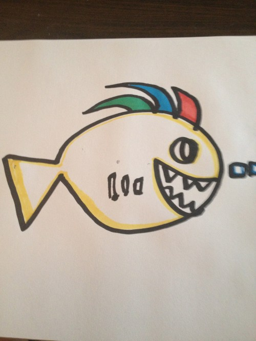 Punk Fish by Jason Wright