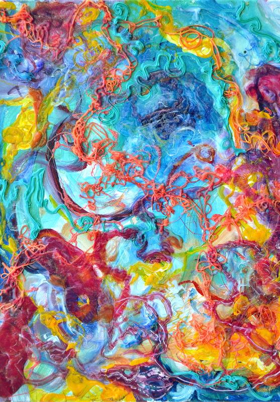 "Ernstian explosion 2"" © Dr. Regina Valluzzi"