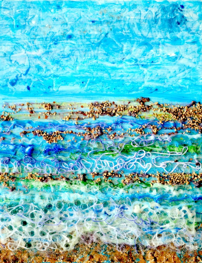 """Filigree Shoreline"" © Dr. Regina Valluzzi"