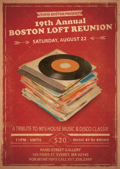 19th Annual Boston Loft Reunion