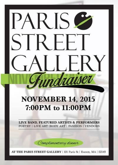 Paris Street Gallery Fundraiser