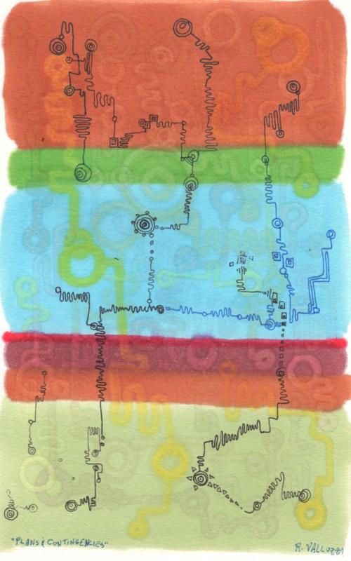 """""""Plans and Contingencies"""" © Dr. Regina Valluzzi"""