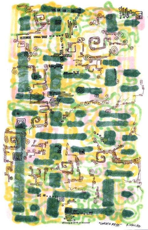 """Garden Maze"" © Dr. Regina Valluzzi"