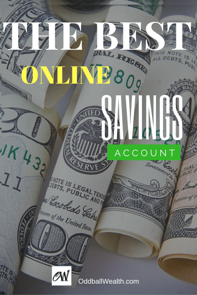 The Best Online Savings Account and Highest Yield