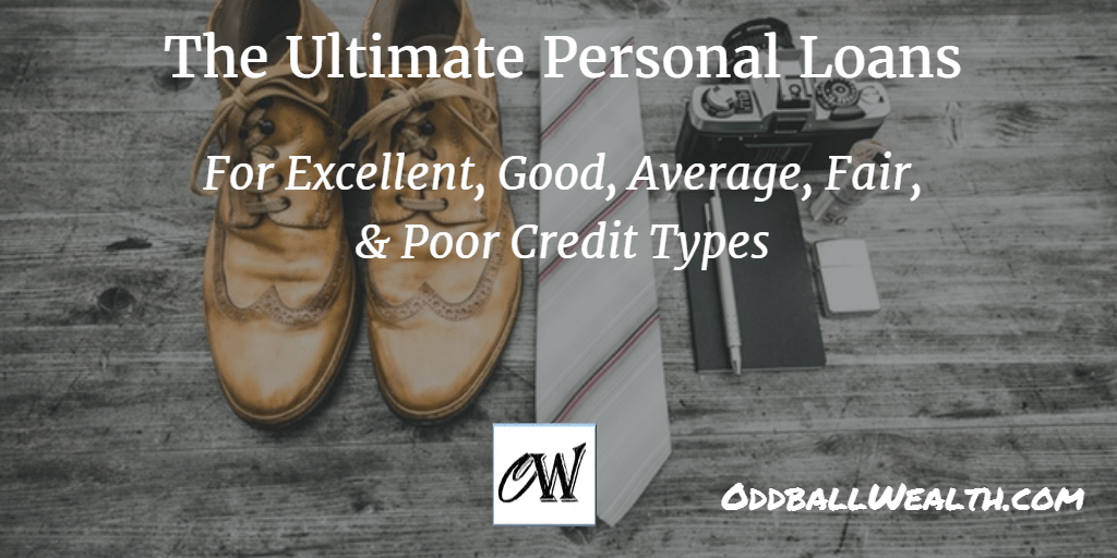 Best Personal Loans and Lending Rates for all Credit Types