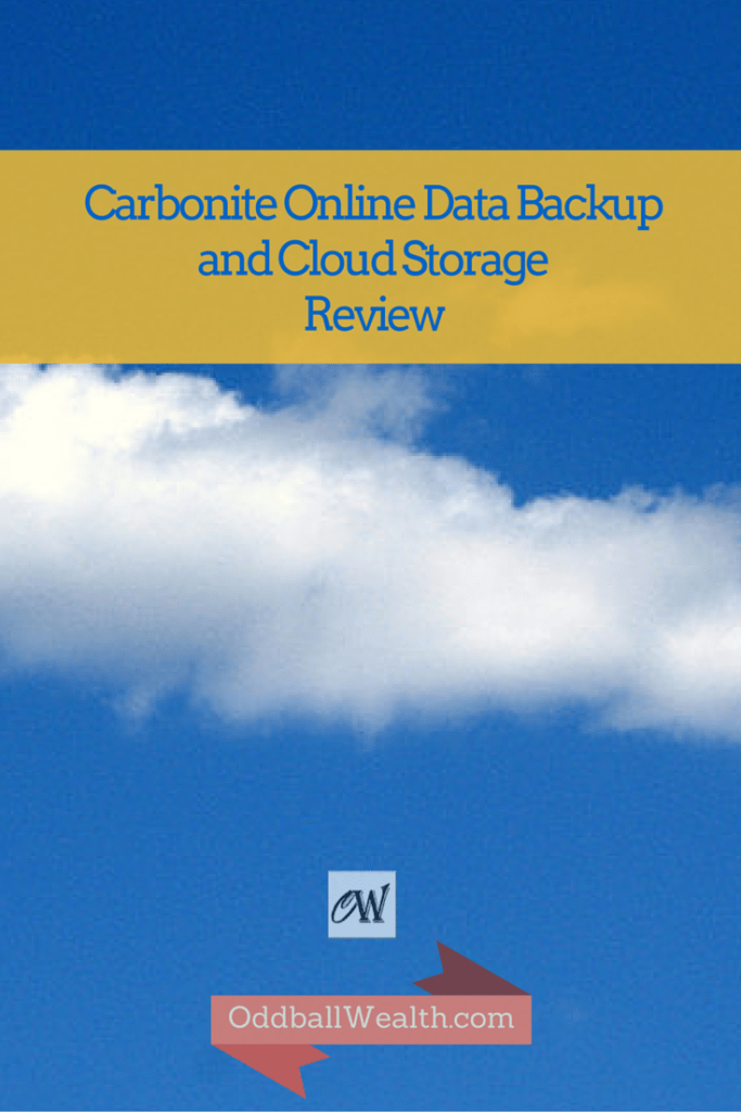 Carbonite Online Data Backup and Cloud StorageReview