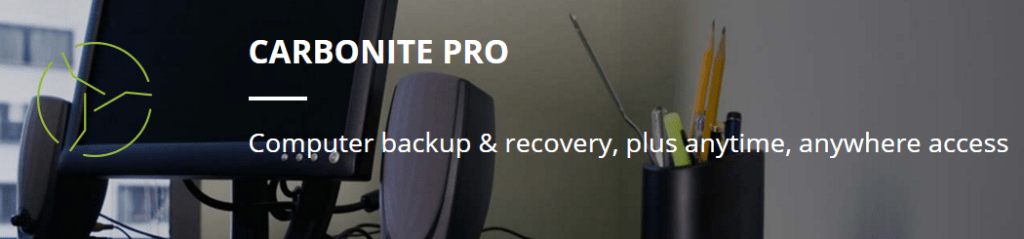 Carbonite Pro for Business Computer and Workstation Backup