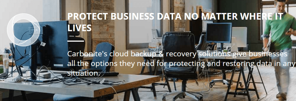 Carbonite Protects Business Data Anywhere