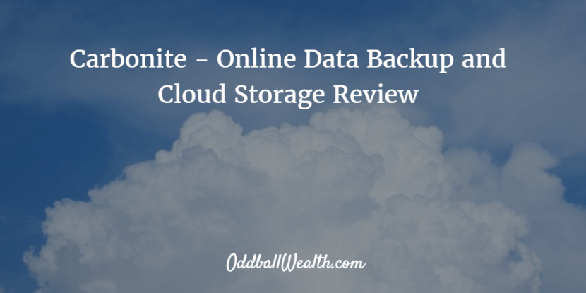 Online Data Backup and Cloud Storage