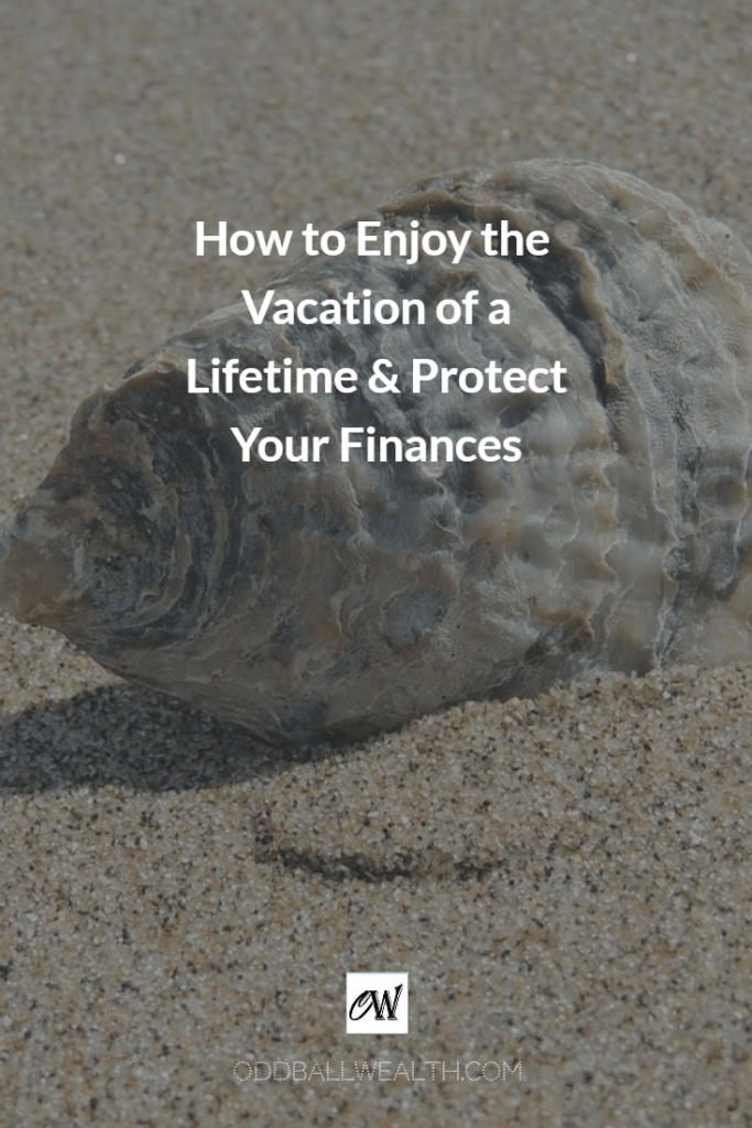 How to Enjoy the Vacation of a Lifetime and Protect Your Finances