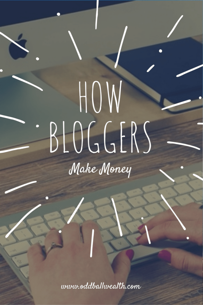 Learn the different ways bloggers make money blogging and generate income from their blogs
