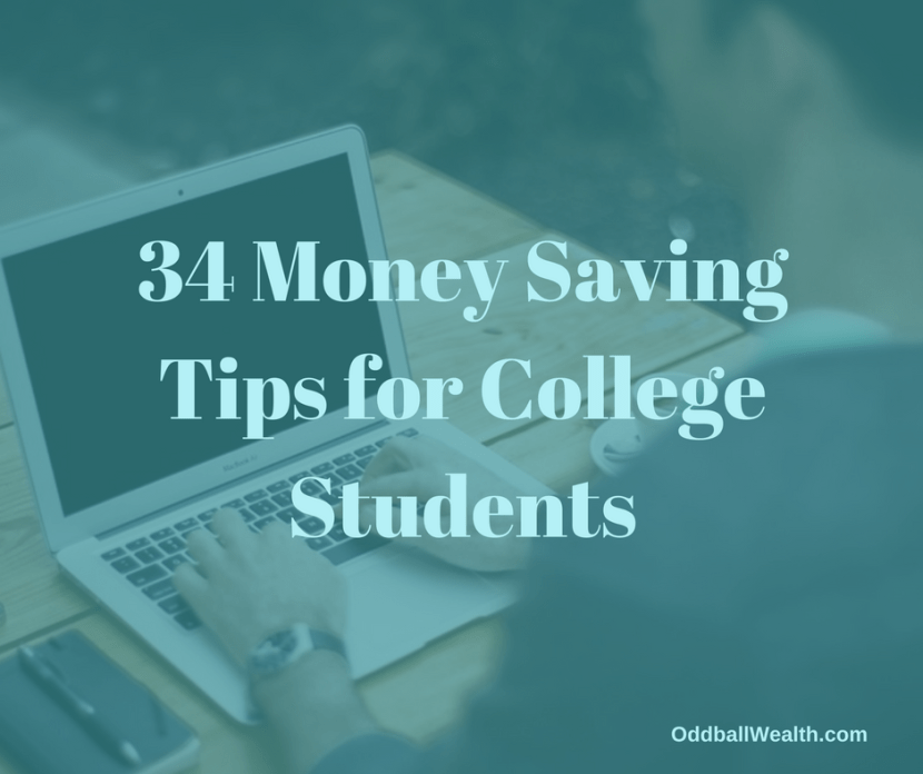34 Money Saving Tips for College Students