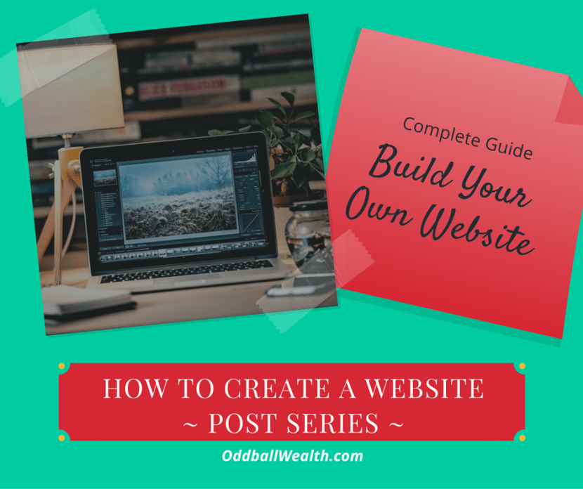HOW TO CREATE A WEBSITE - Post Series. Complete Guide to Build Your Own Website!
