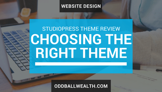 Website Design. StudioPress Theme Review - How to choose the right WordPress theme for your website.
