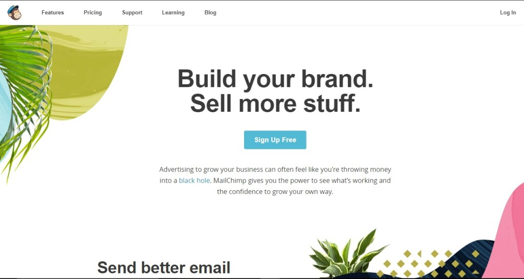 Mailchimp Email Marketing Software and service. Send better email, build your brand, and sell more things.