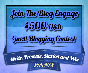 Blog Engage contest