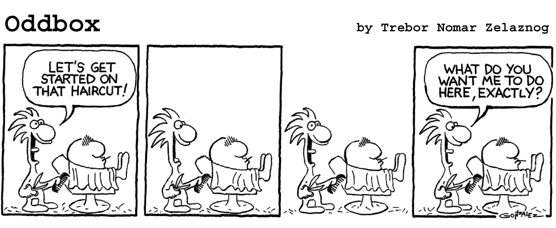 Bald Oddbox Comics