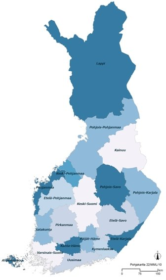 suomenmaakunnat