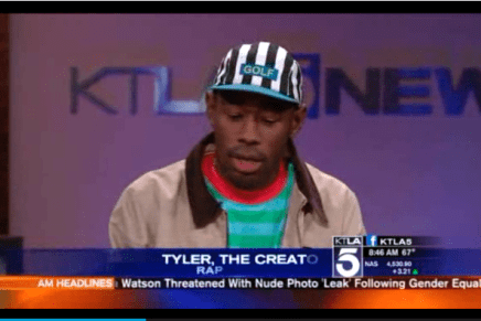 Tyler, The Creator On KTLA