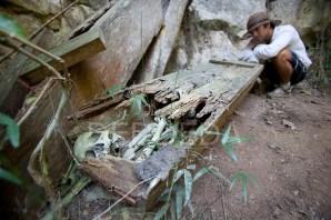 Skeletal Human Remains Sagada Philippines