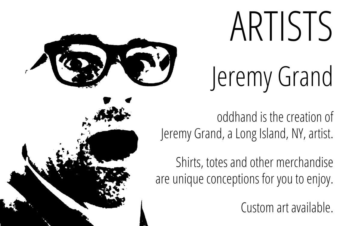 Artist Jeremy Grand