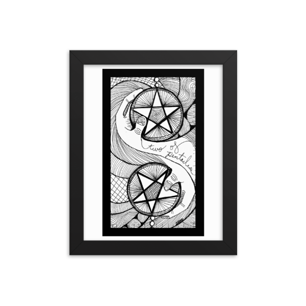 Two of Pentacles – Prioritizing/Disorganization
