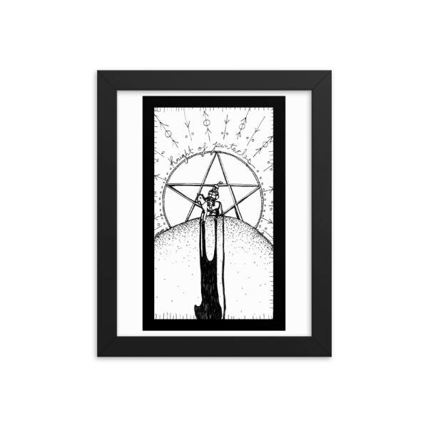 Knight of Pentacles – Hard Work/Boredom