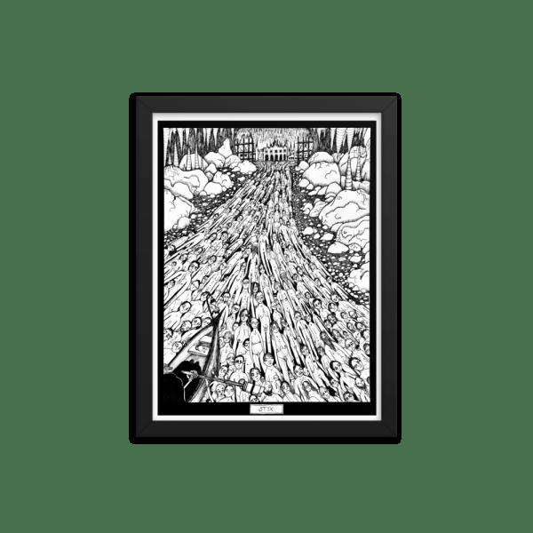Styx Framed Print